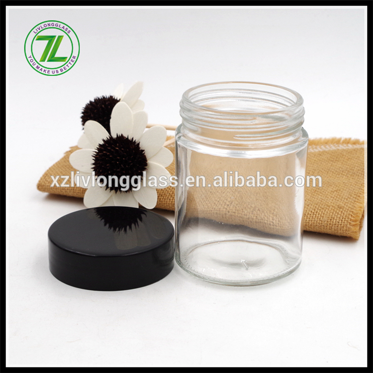 100ml straight sided herb jar with childproof lid