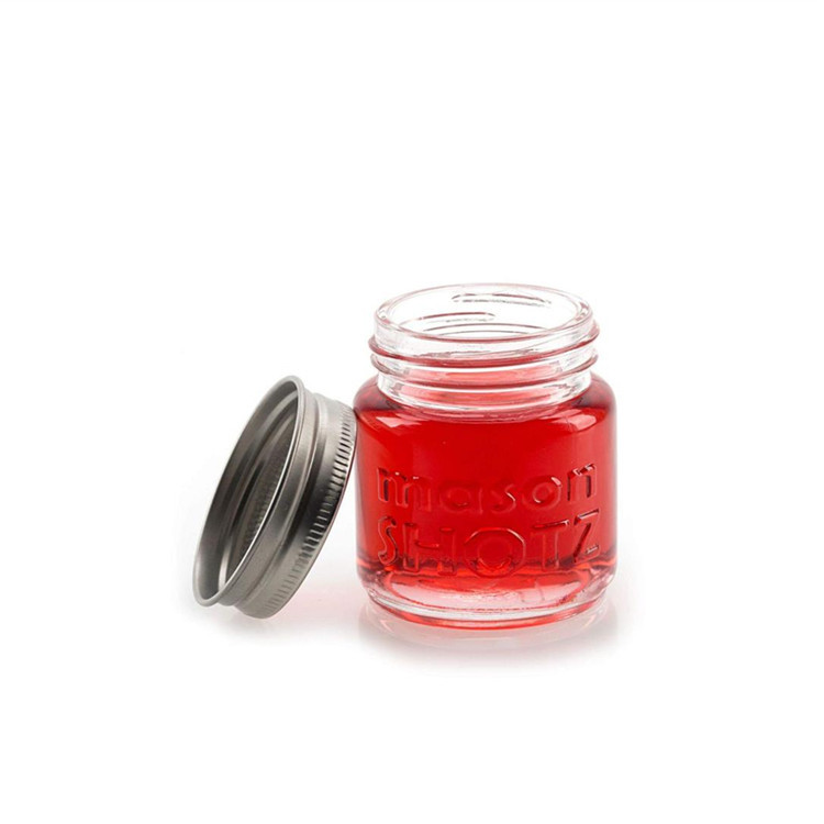 Wholesale 8oz Cr Glass Jar - 4oz Round Wide Mouth Glass Jar For Jam Jelly Pudding With Screw Lid – LIVLONG