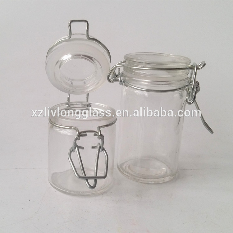Glass Clip Top Storage Jar 50ml and 70ml