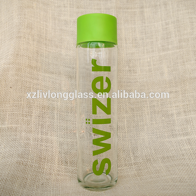 370ml Mineral Water Glass Bottle with Cap