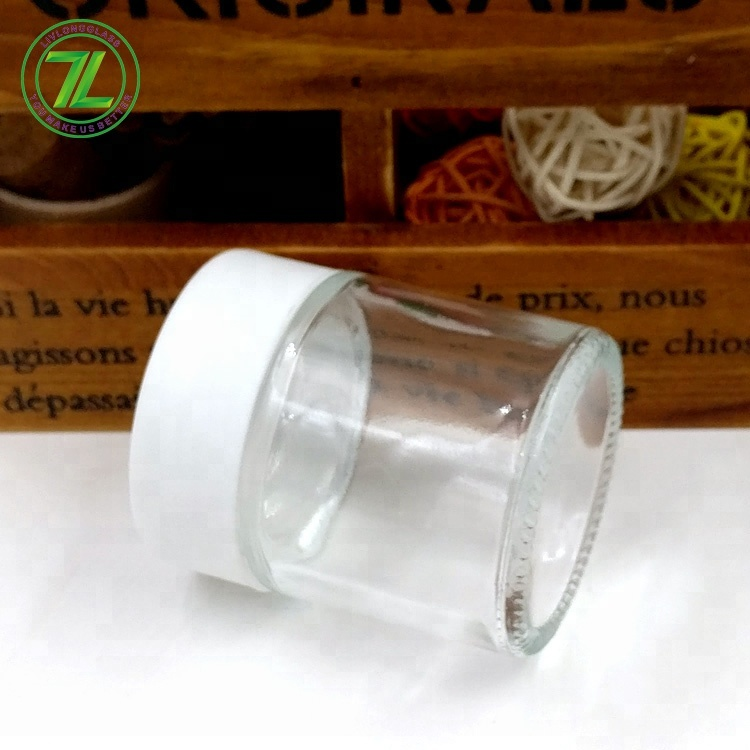 2oz straight side weeds jar 60ml empty child proof glass container with lids