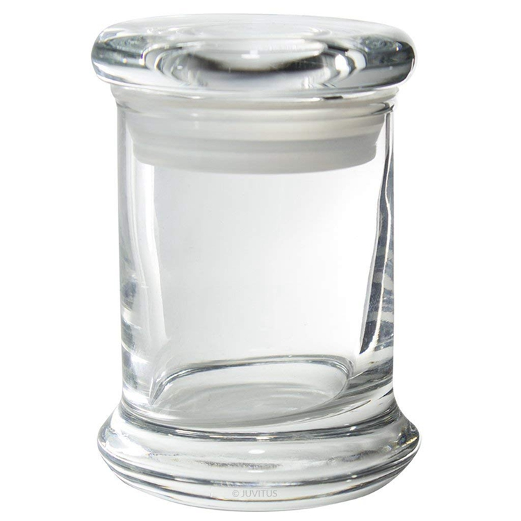 Trending ProductsMakeup Cosmetic Containers Glass Jar - 8 oz Clear Glass Candle Jars with Airtight Pop Top Lids – LIVLONG