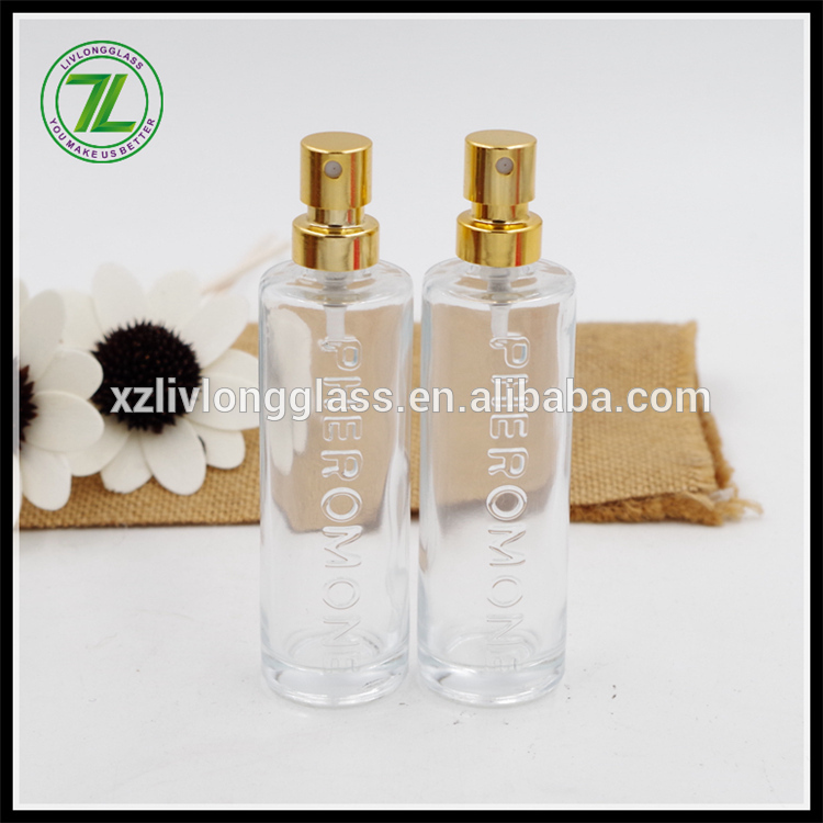 30ml pheromone empty perfume bottle with pump sprayer