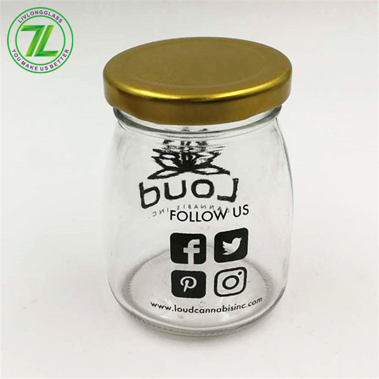 China wholesale Glass Bottle 50ml - weeds pack glass jar with screw top – LIVLONG