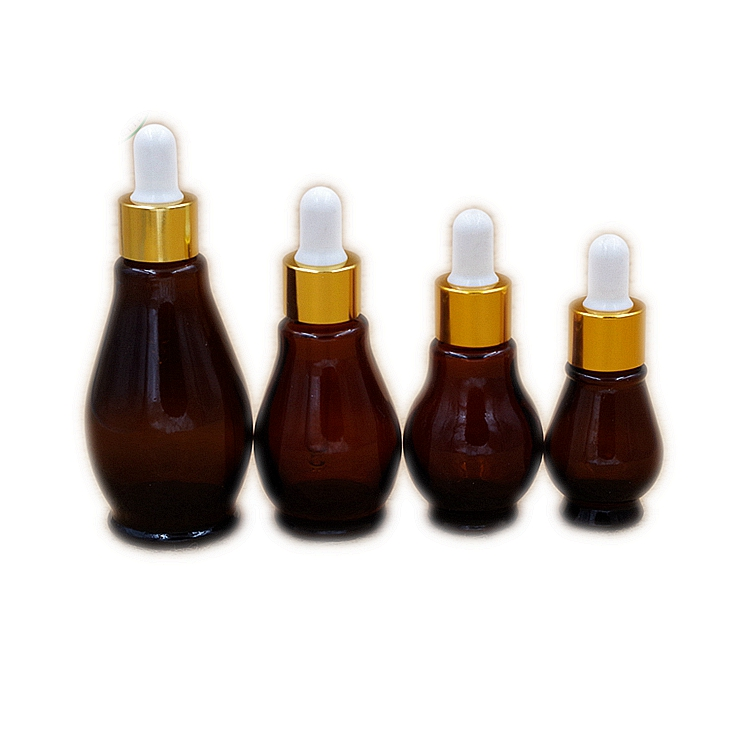 15ml 20ml 30ml 50ml Amber Glass Essential Oil Bottle with Dropper