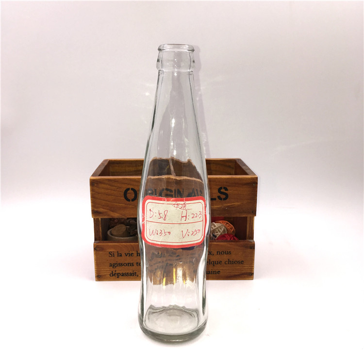 250ml Glass Soda Bottle With Cap