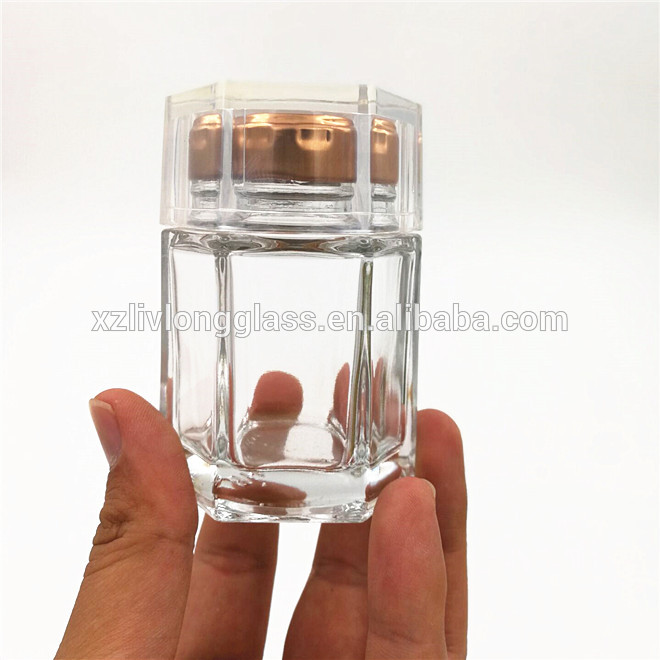 100g honey jam glass high quality glass jar with nice lid