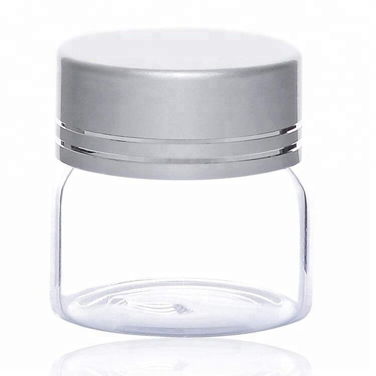 Trending ProductsGlass Bottles For Face Cream - Borosilicate Clear Glass Mini Jars with Screw Lids – LIVLONG