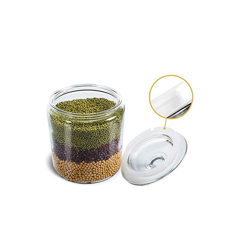 750ml Glass Storage Jar With Glass lid