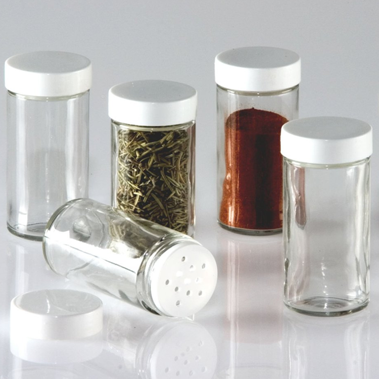 Glass Spice Jar with Shaker tops