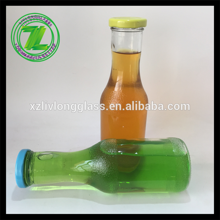 OEM manufacturer Airtight Glass Bottles - 300 ml glass beverage bottle with tin cap – LIVLONG
