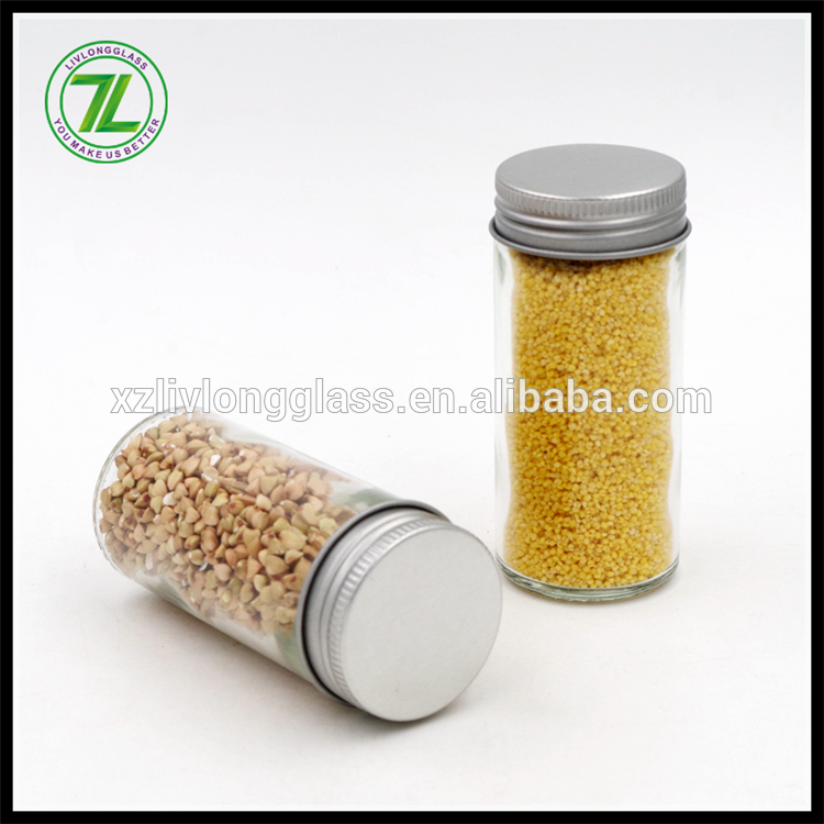 100ml Round Shaker Glass Spice Jar with Shaker