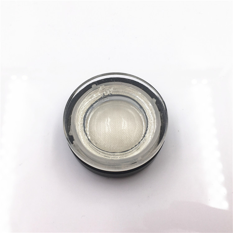 5ml 7ml Child Proof Glass Jar With Child Resistant Lid For Tobacco Tar