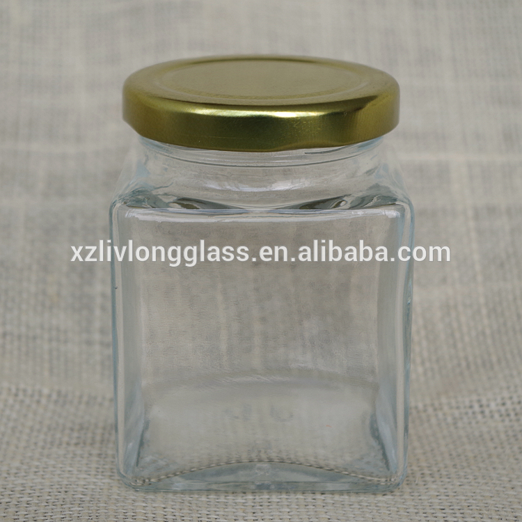2017 Good Quality Tissue Culture Bottle - 200ml square glass bottle with metal screw lid – LIVLONG
