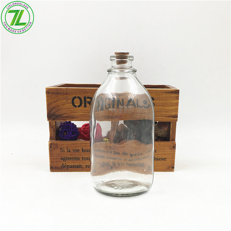 250ml Pharmaceutical Glass Round Bottle