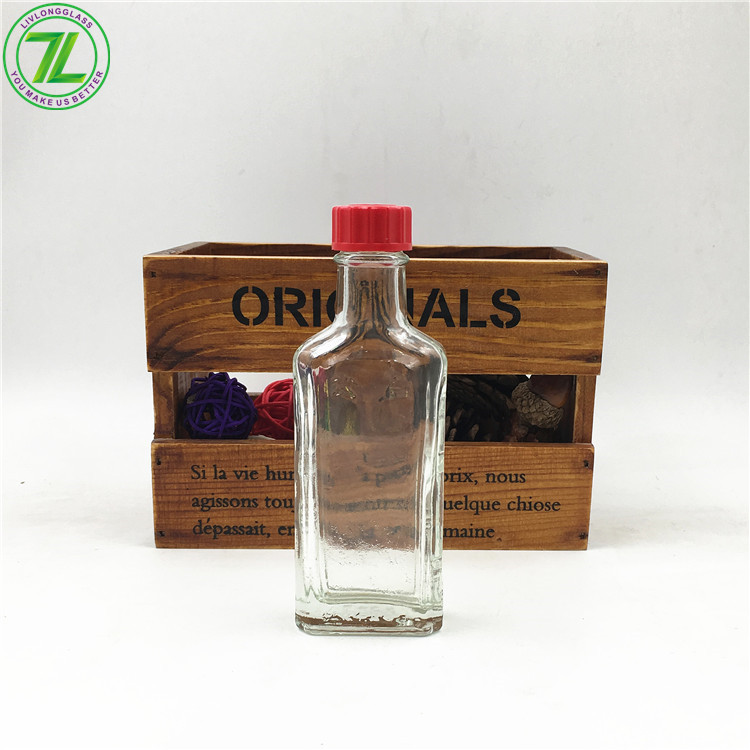 30ml 1oz Clear Pharmaceutical Safflower Oil Glass Bottle With Screw Cap