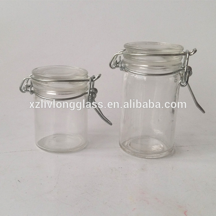 Glass Clip Top Storage Jar 50ml and 70ml Featured Image