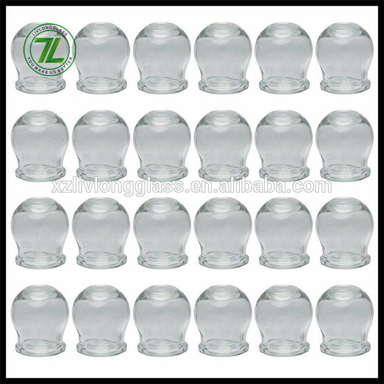 5 sizes Fire Glass Cupping jar Wholesale