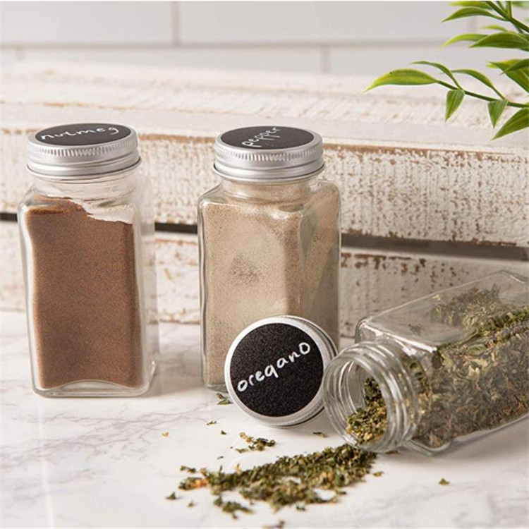 4oz 120ml Glass Spice Jar For Salt Pepper With Shaker