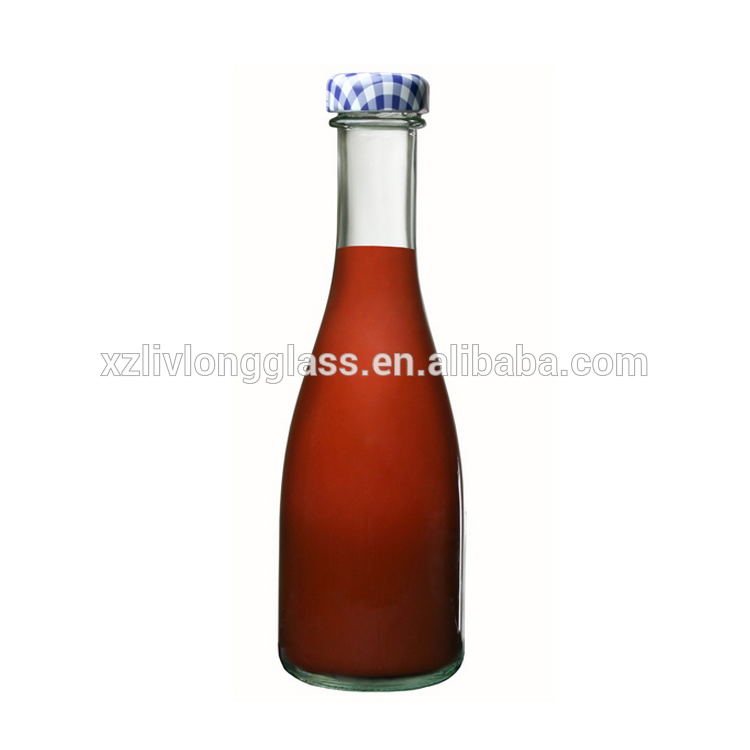 8oz 250 ml Round Twist Top Glass Bottle for Sauce