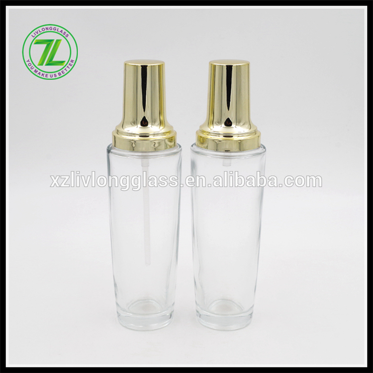 110ML glass face cream bottle