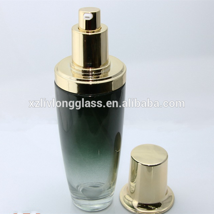 GLASS SKINCARE LOTION BOTTLE WITH PUMP BOTTLE DISPENSER