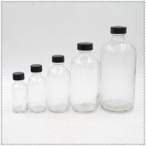 boston round bottle from 2oz to 32oz