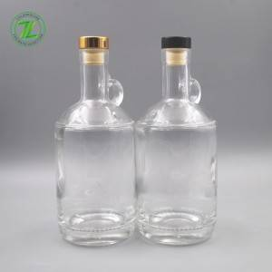 glass spirits bottle of different styles from China
