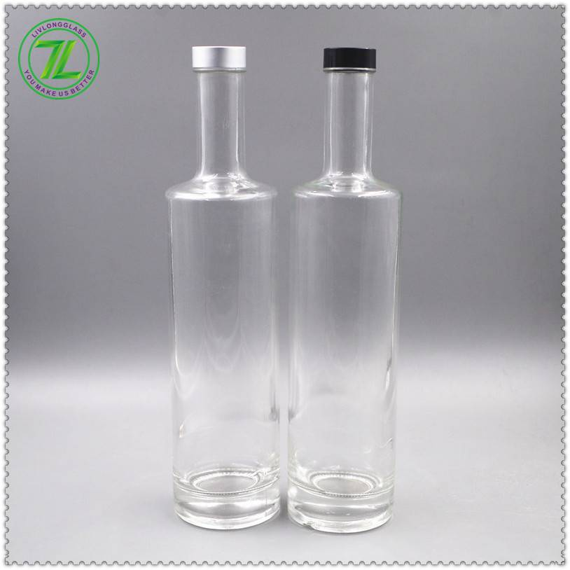 glass spirits bottle of different styles from China Featured Image