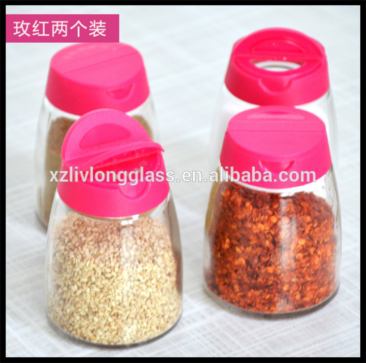 150ml spice jar with butterfly open lid