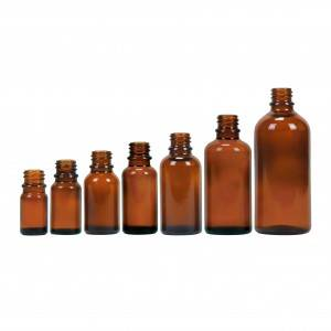 glass essential oil bottle from 5ml to 100ml