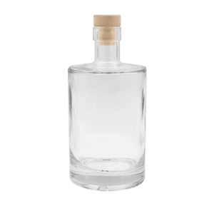 500ml glass Gin bottle with cork