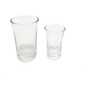 Free sample clear 1oz glass tumbler/water cup/whiskey cup/tableware