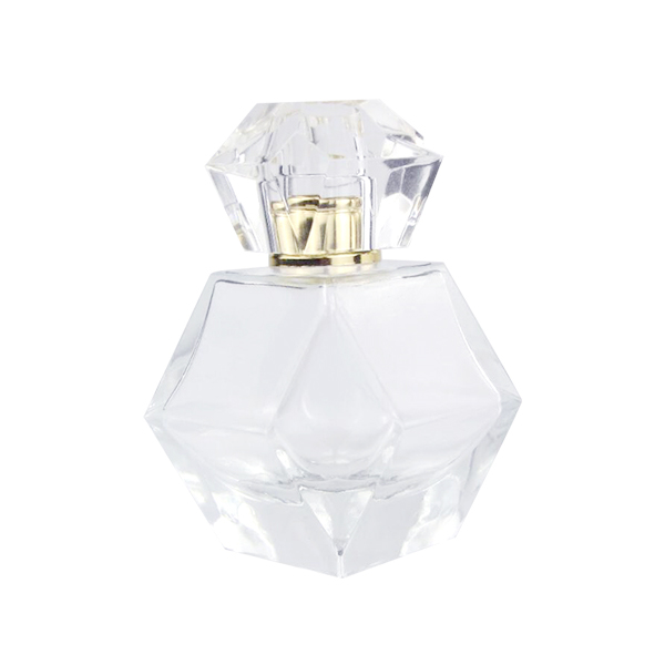 New Delivery for Handblown Glass Mason Jar - Charming Clear Checked Carved/Luxury Skin Care Perfume Bottle – LOM