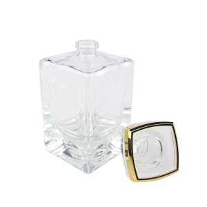 50ml Rectangle Perfume Aroma Glass Diffuser Bottle Manufacturer