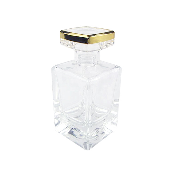 Top Quality Giant Perfume Bottle - 50ml Rectangle Perfume Aroma Glass Diffuser Bottle Manufacturer – LOM