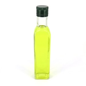 Hot Sale 25cl 250ml Dorica Green Glass Olive Oil Bottle