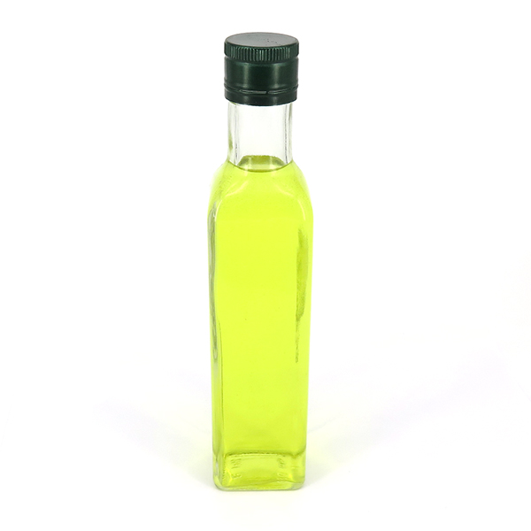 Factory supplied Glass Mason Jar With Handle - Hot Sale 25cl 250ml Dorica Green Glass Olive Oil Bottle – LOM