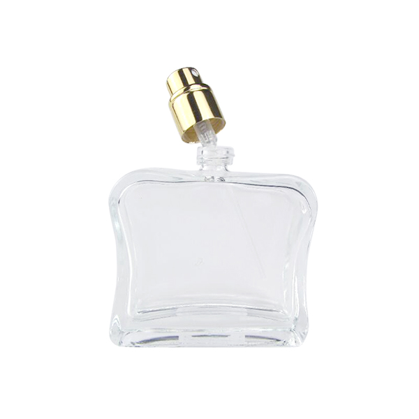 Wholesale Price Glass Cosmetic Jar 100ml - 2Oz Square Fancy Glass Perfume Spray Bottle Manufacturer – LOM