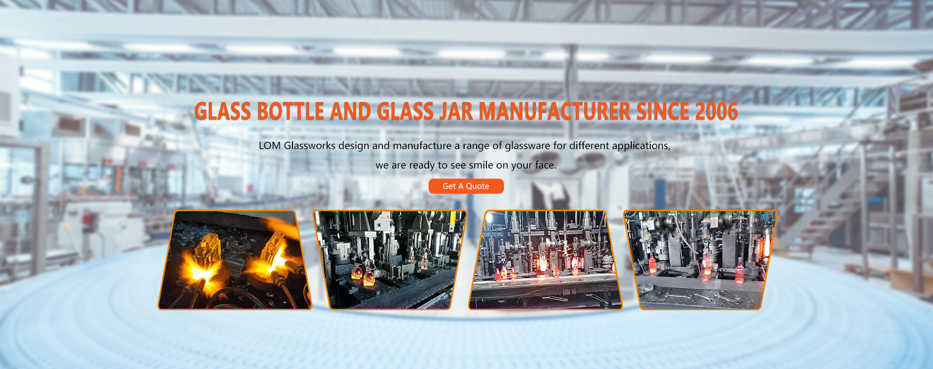 Glass Bottle and Glass Jar Manufacturer Since 2006