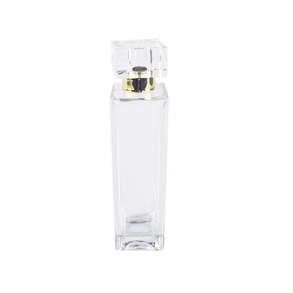 Factory supplied Perfume Bottle Makers - 55ml Tall Square Perfume Aroma Glass Diffuser Bottle Factory – LOM