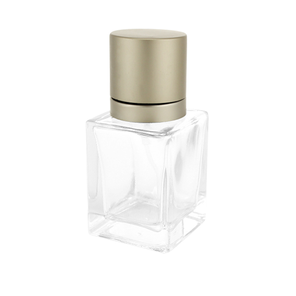 New Arrival China White Cosmetic Jar - Top- Class Charming Square Shape Perfume Bottle Modern Style – LOM