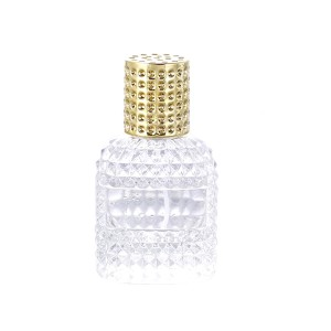 Fixed Competitive Price Vintage Sterling Silver Perfume Bottle - 30ml 50ml Customize High Quality Perfume Glass Bottle With Cap – LOM