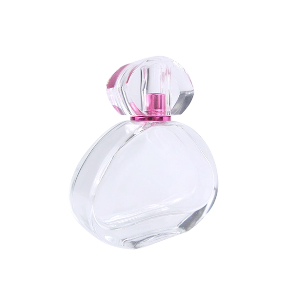 Wholesale Frosted Cosmetic Jar - 2Oz Customize High Quality Perfume Glass Bottle With Cap – LOM