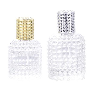 30ml 50ml Customize High Quality Perfume Glass Bottle With Cap