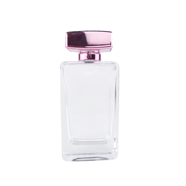 Cheapest Price Cosmetic Oil Bottle - Stock Elegant Square And Round Shape Clear Glass Perfume Bottle. – LOM
