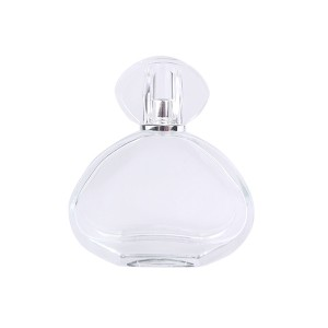Online Exporter Puff Perfume Bottle - 2Oz Customize High Quality Perfume Glass Bottle With Cap – LOM