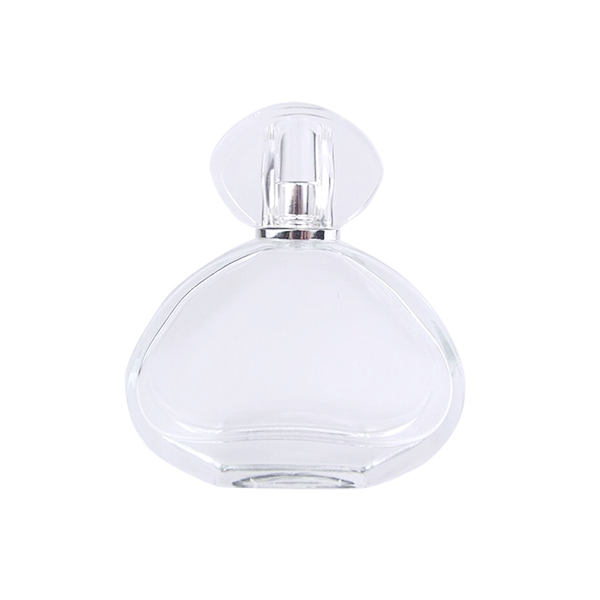 2019 High quality Essential Oil Cosmetic Serum Sample Bottle - 2Oz Customize High Quality Perfume Glass Bottle With Cap – LOM
