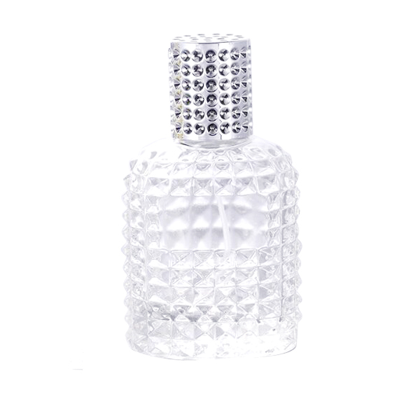 Hot-selling Bamboo Cosmetic Jar - 30ml 50ml Customize High Quality Perfume Glass Bottle With Cap – LOM