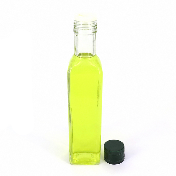 Best quality Beverage Wine Glassware Cup - Hot Sale 25cl 250ml Dorica Green Glass Olive Oil Bottle – LOM